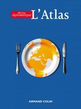 Conception graphique et illustration de couverture de la version livre de l'Atlas 2006 du Monde diplomatique.