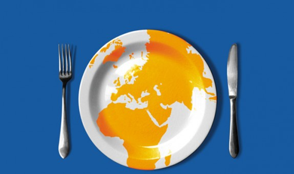Conception graphique et illustration de couverture de la version livre de l'Atlas 2006 du Monde diplomatique.