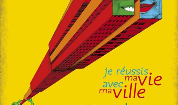 Campagne «Je réussis ma vie avec ma ville» pour la mairie de Bobigny. Cette initiative a pour but d'accompagner des projets de jeunes.