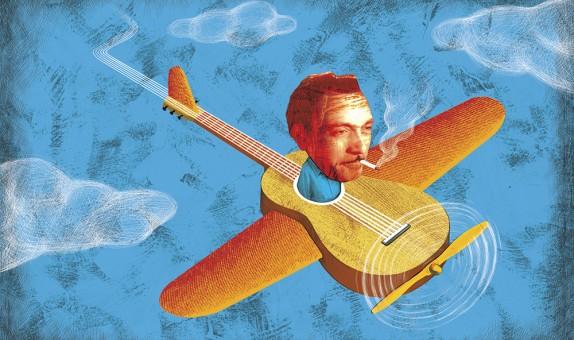 Hommage à Django Reinhardt.