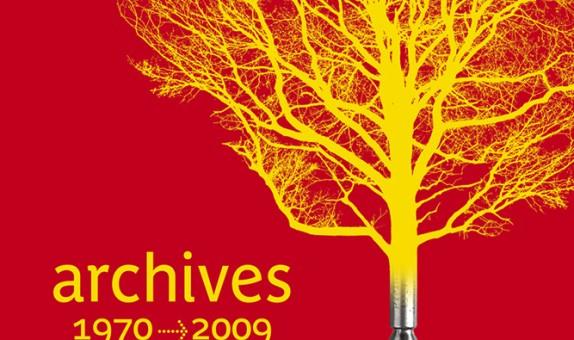 Conception graphique et illustration de couverture du DVD des archives du Monde diplomatique, édition 2010.