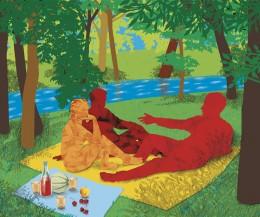 Recherche personnelle autour du tableau d'Édouard Manet.
