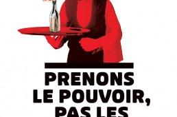 Image militante diffusée pendant les manifestations de 2010 contre la réforme des retraites.